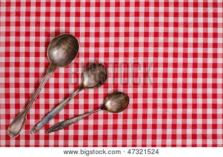 Three Silver Spoons