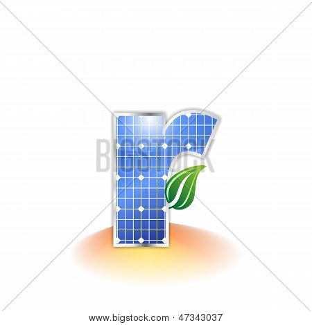 solar panels texture, alphabet lowercase letter r icon or symbol