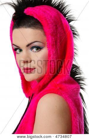 Girl In Fancy Costume