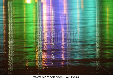 Night Light Reflections