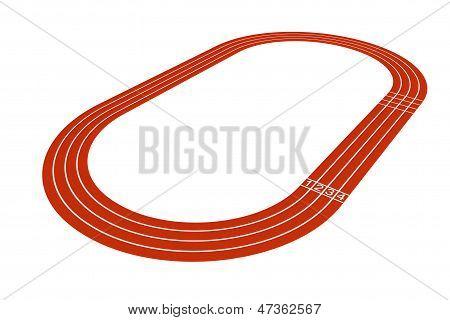 Standard Running Track