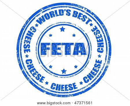 Feta Cheese-stamp