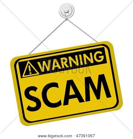 Warning Of Scam