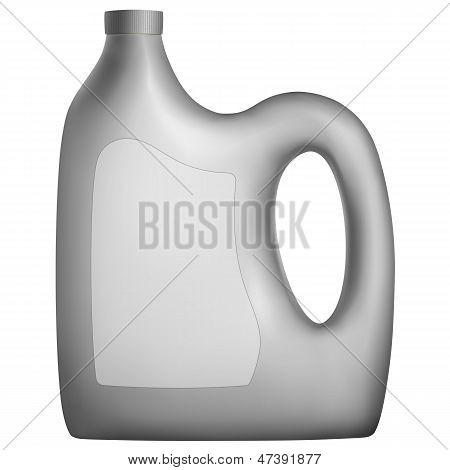 Канистра моторного масла или других жидкостей автомобилей
