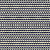 seamless texture of many blue or yellow arrows intertwined poster