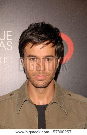 Enrique Iglesias  at the Enrique Iglesias