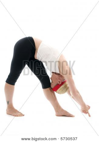 Standing Separate Head To Knee Yoga Pose