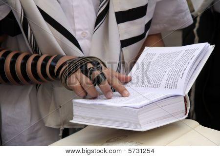 Prayer. Western Wall. Jerusalem