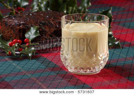 Eggnog And Fruitcake