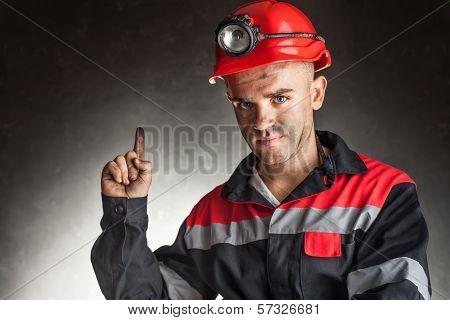 Coal Miner With Good Idea