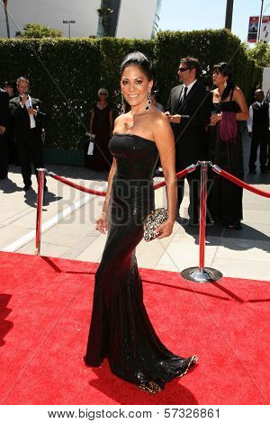 Sheila E. at the 2010 Primetime Creative Arts Emmy Awards,  Nokia Theater L.A. Live, Los Angeles, CA. 08-21-10