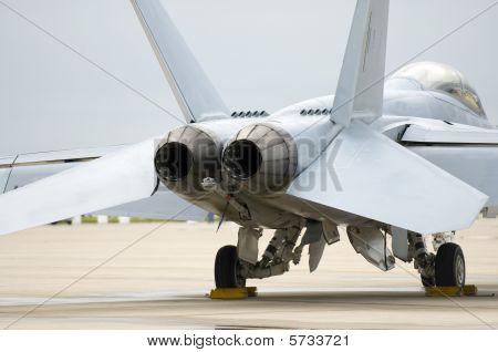 Fighter Jet Tail