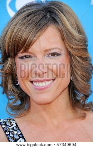 Hannah Storm at the 45th Academy of Country Music Awards Arrivals, MGM Grand Garden Arena, Las Vegas, NV. 04-18-10