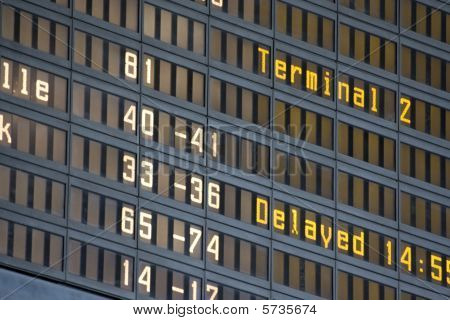 airport billboard