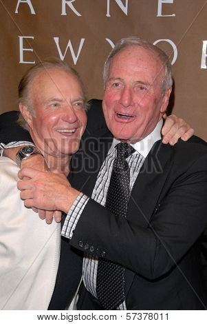 James Caan and Jerry Weintraub at a celebration of Jerry Weintraub's New Book