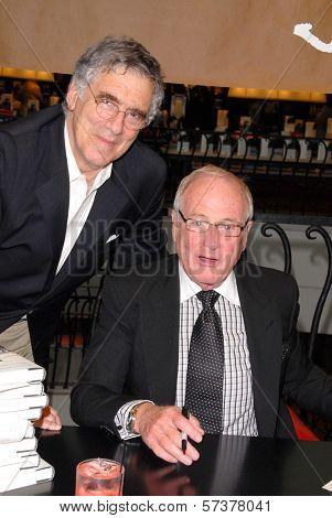 Elliott Gould and Jerry Weintraub at a celebration of Jerry Weintraub's New Book