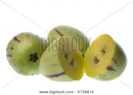 Pepino Dulce (melon Pears) Isolated