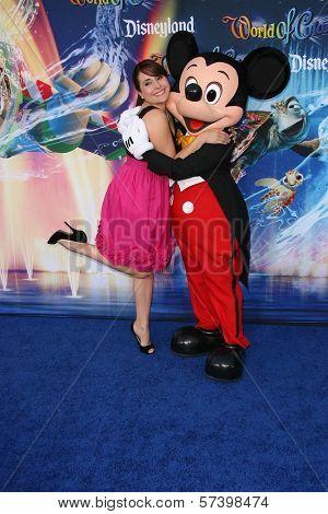 Karyme Lozano at the World Premiere of 'World Of Color,' Disney's California Adventure, Amaheim, CA. 06-10-10