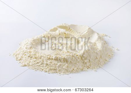 heap of all-purpose flour