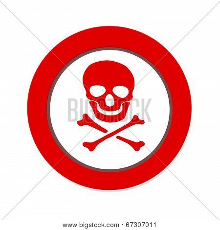 No Pirate Sign