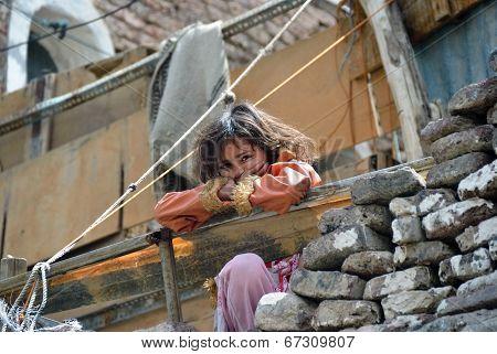 Yemeni Little Girl