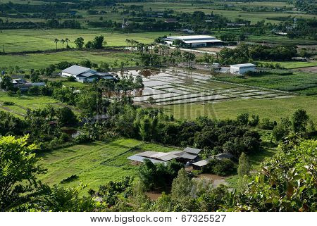 Industrial, agricultural encroachment
