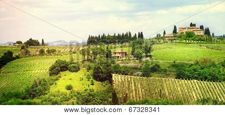 landscapes of Tuscany, bella Italia series