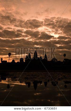 Dawn over AngkorWat