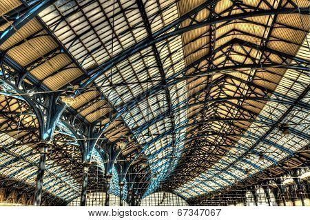 Roof of Brighton railway station