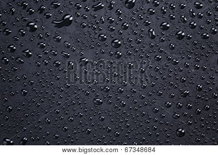 Plastic Background With Lotus Effect