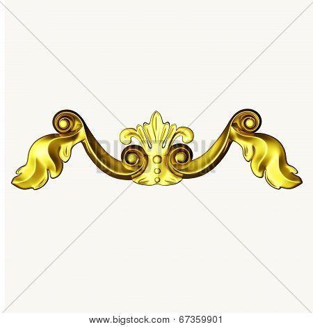 Gold Ornate