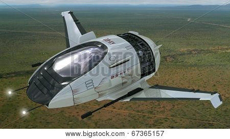 Drone design of surveillance aircraft