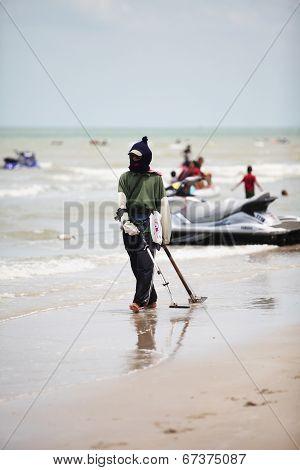 Man of the beach