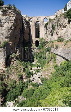 New Bridge In Ronda, Spain