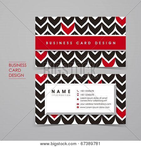 fancy vector business card set template design poster