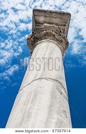 Ruins Of Ancient Greek Colony Chersonesos. Sevastopo