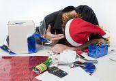 Christmas finance suicide