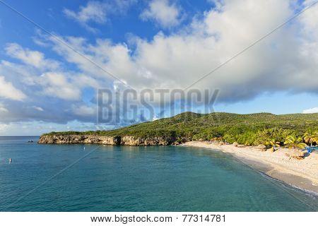 Grote Knip public Beach at Curacao, also called Knip Grandi