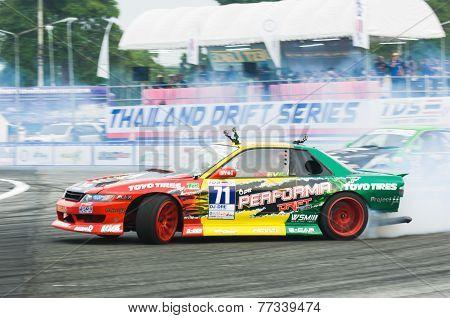 Thailand Drift Series 2014 In Pattaya
