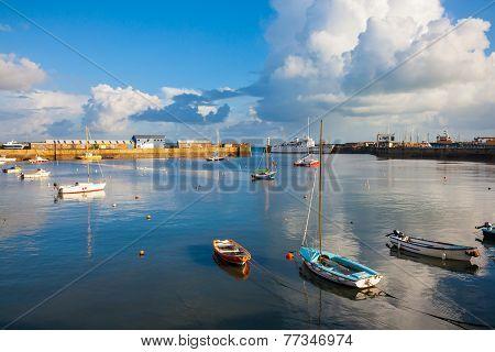 Penzance Harbour Cornwall