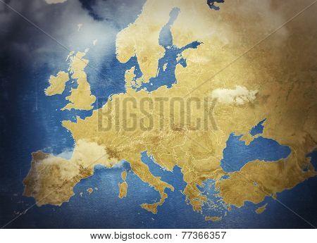 Beautiful Illustrated map