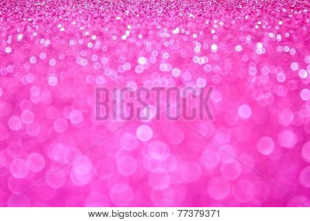 Pink Glitter Sparkly Background