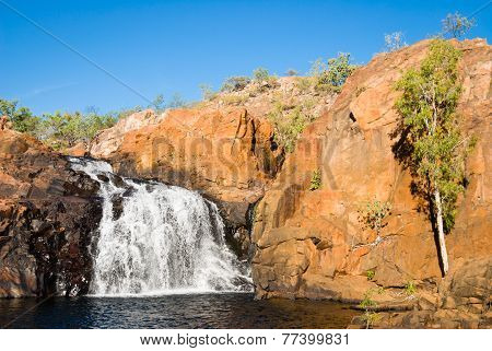 Upper Falls At Leliyn Australia