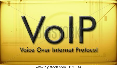 Voip In Bright Yellow