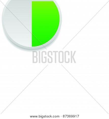 Pie Chart Vector Graphics. Pie Chart, Pie Graph Element