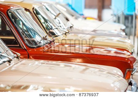 Red And White Cars