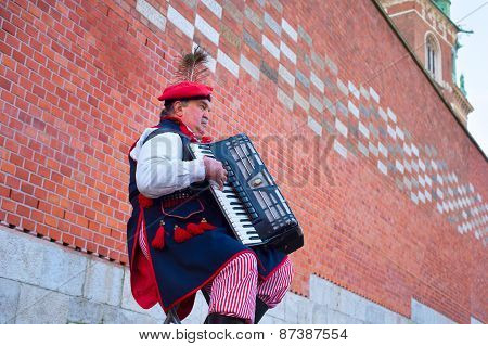 Traditional Poland Musician