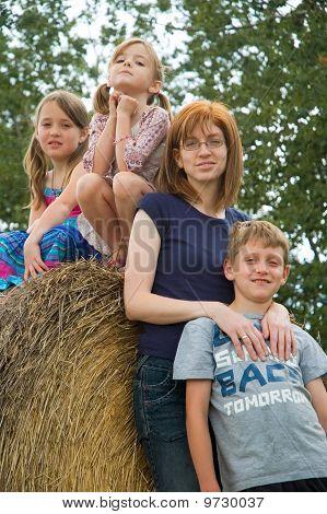 Single Mom Family