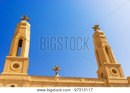 Coptic Cathedral In Khartoum.