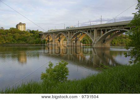 1932 Broadwya Bridge In Saskatoon, Sk, Ca